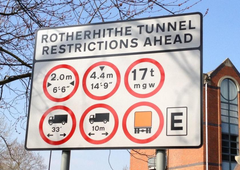 Rotherhyte multiple sign