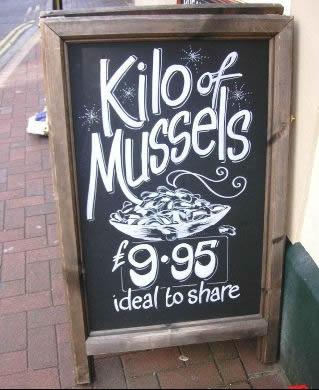 Kilo of Mussels