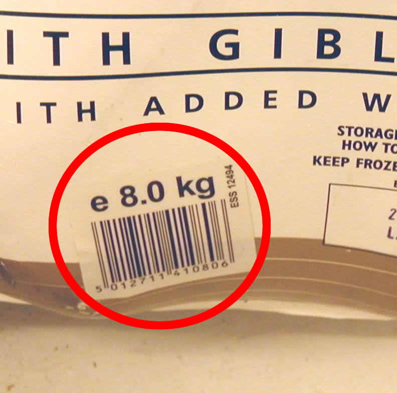 Turkey label